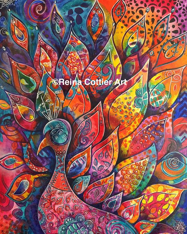 Abstract Paintings Reina Cottier Art