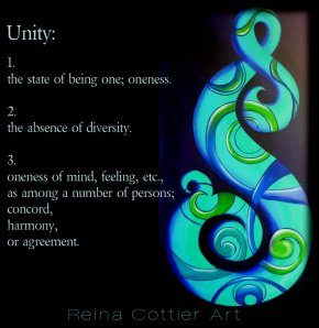 Reina Cottier Art - Unity
