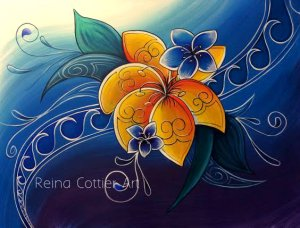 Tropical 4- Reina Cottier Art