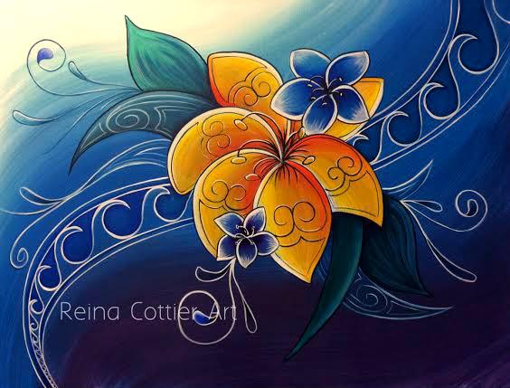 Tropical 4- Reina Cottier Art