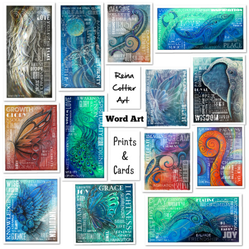 Wordart Prints & Cards
