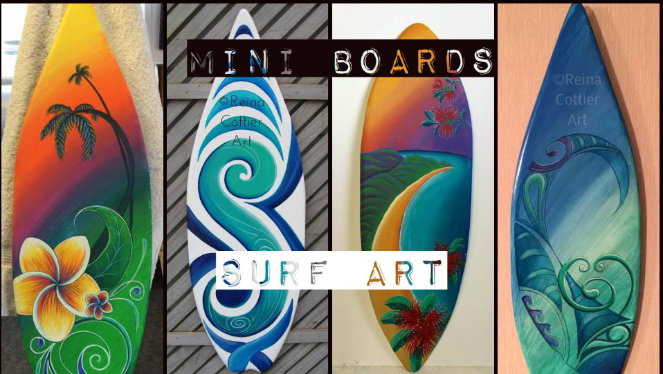 Mini Boards Surf Art