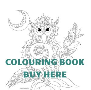 Reina Cottier Art Colouring Book