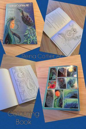 Colouring Book Reina Cottier Art
