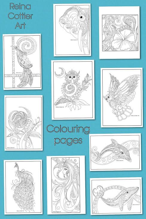 Colouring Book Final 10 Reina Cottier Art