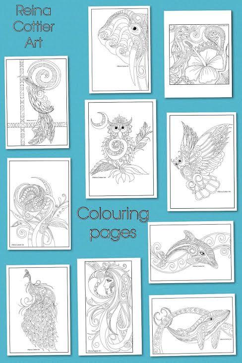 Colouring Book Final 10 Reina Cottier Art