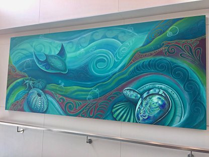 New Zealand Seabed by Reina Cottier