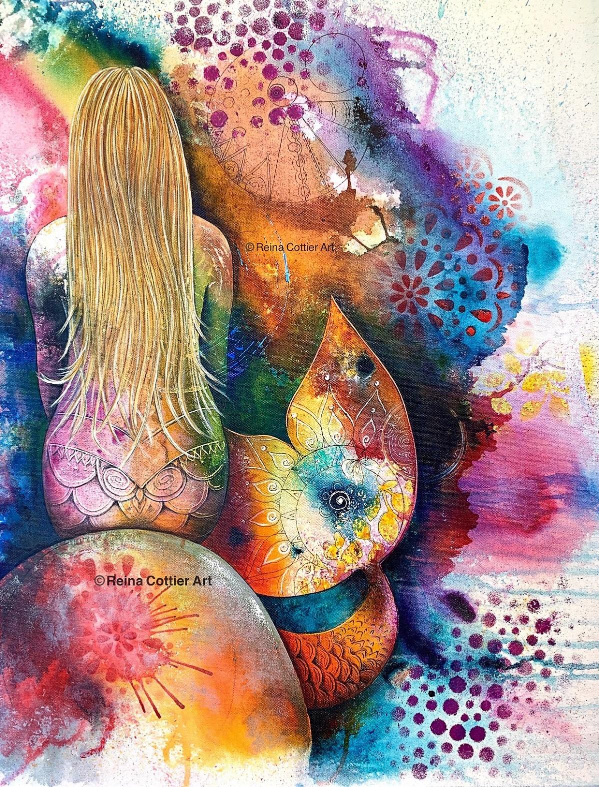 Mermaid by Reina Cottier