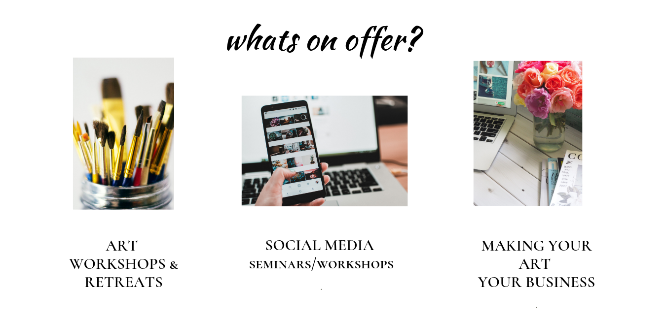 Social Media and Making Your Art your Business Workshops, Seminars & Courses