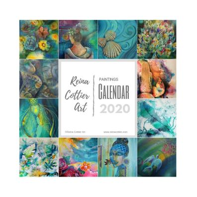 Reina Cottier Art CALENDAR 2020 Recent Paintings