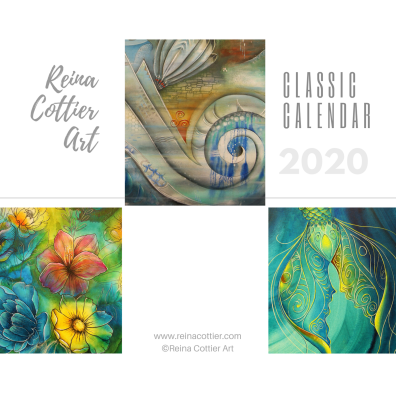 Reina Cottier Art CALENDAR 2020 Classic Paintings